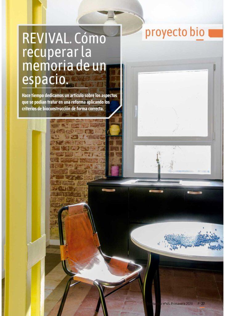 Una reforma ecológica de Sucursal Urbana en Madrid.