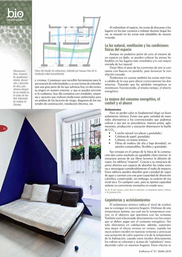 Un buen diseño en Madrid.